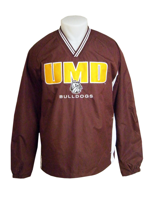 Image For UMD Bulldogs Pull Over Jacket by CI Sport
