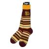 Image for Stripe Bulldog Head Fuzzy Socks by FBF