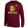 *2021 Men's Frozen Four Bulldogs Long Sleeve Tee Image