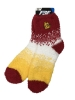 Image for Ombre Bulldog Head Fuzzy Socks by FBF *