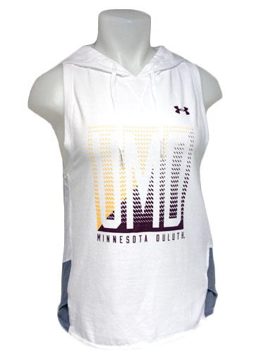 Image For Women's UMD Hooded Tank Top by Under Armour