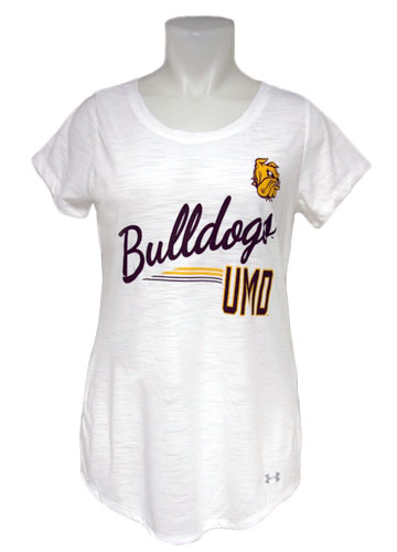 Image For Women's UMD Bulldogs Tee by Under Armour