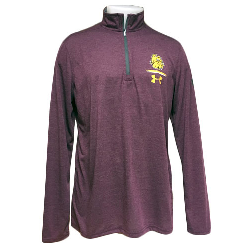 Image For Bulldog Head 1/4 Zip Top by Under Armour