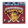 Image for NCAA 2018 Hockey Championship 4.5x6 Multi-Use Decal