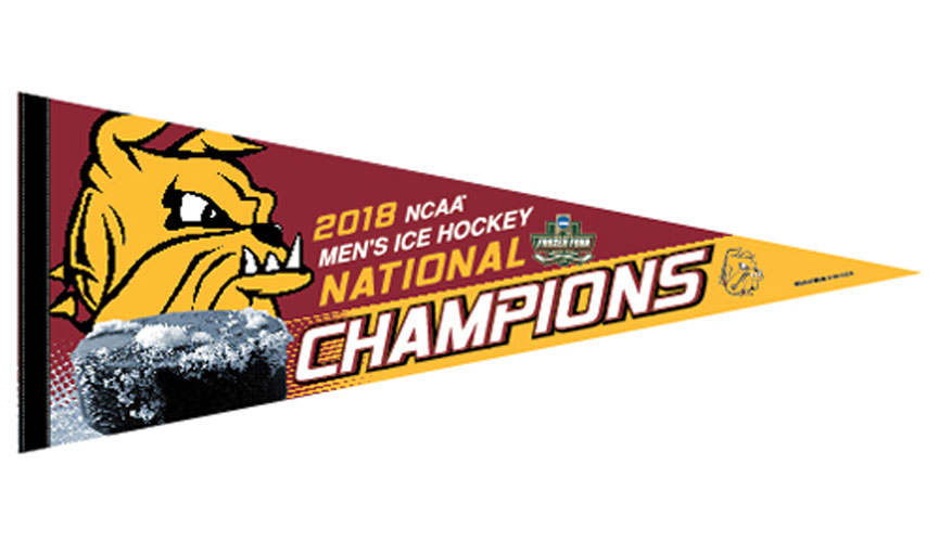 Image For NCAA 2018 Hockey Championship Pennant by WinCraft