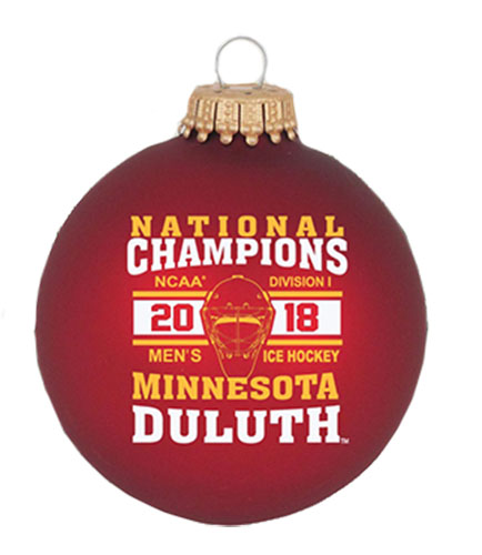 Image For NCAA 2018 Hockey Championship Ornament by RFSJ