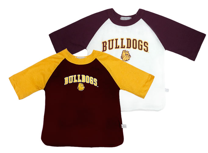 Image For Infant/Toddler Bulldogs 3/4 Sleeve Tee by Third Street