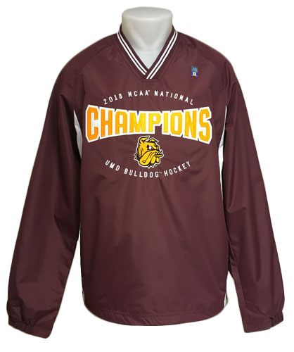 Image For NCAA 2018 Hockey Championship Bulldogs Jacket by CI Sport