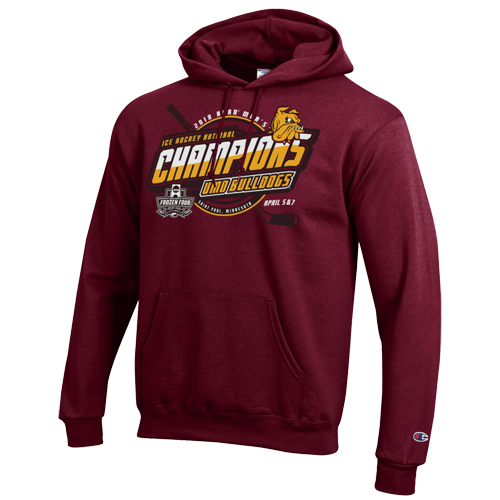 Image For 2018 NCAA Hockey Championship Hooded Sweatshirt by Champion