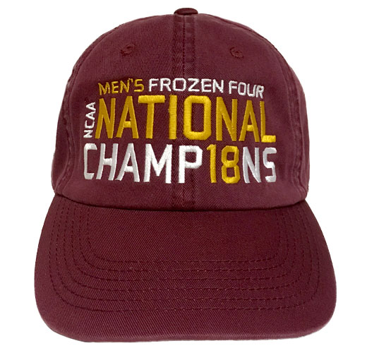 Image For NCAA Hockey National Champions '18 Adjustable Cap