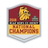 Image for NCAA 2018 Hockey Championship Pin by Wincraft