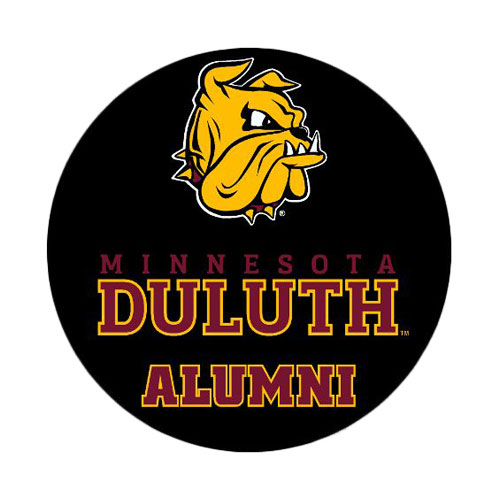 "Image For Bulldog Duluth Alumni Button 2"" by CDI Corp"