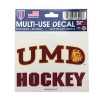 Cover Image for NCAA Hockey 2019 National Champions Decal 5x6 - CLEARANCE