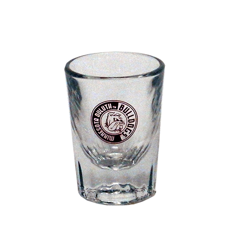 Image For Bulldogs Heavy-Bottom Shot Glass by Spirit