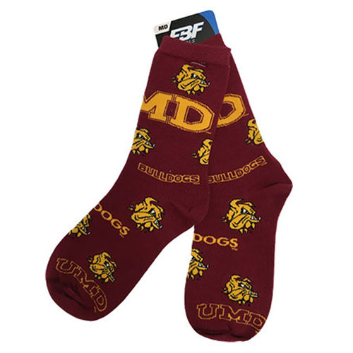 Image For UMD Bulldogs Socks by FBF