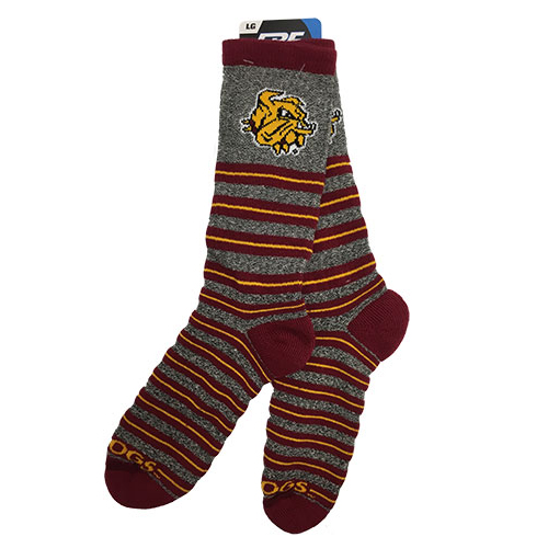 Image For *Striped Bulldogs Socks by FBF