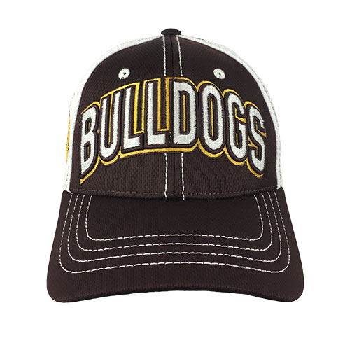 Image For Adult/Youth Bulldogs Mesh Stretch Fit Cap by Zephyr