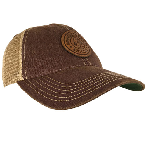 Image For Minnesota Duluth Leather Patch Adjustable Cap by Legacy