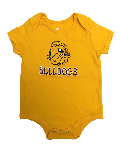 Image For Infant Bulldogs Onesie by Colosseum