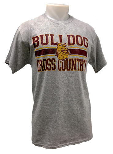 Cover Image For 2018 UMD Sports Tee: Bulldog Cross Country by Gear