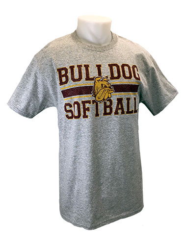 Cover Image For 2018 UMD Sports Tee: Bulldog Softball by Gear