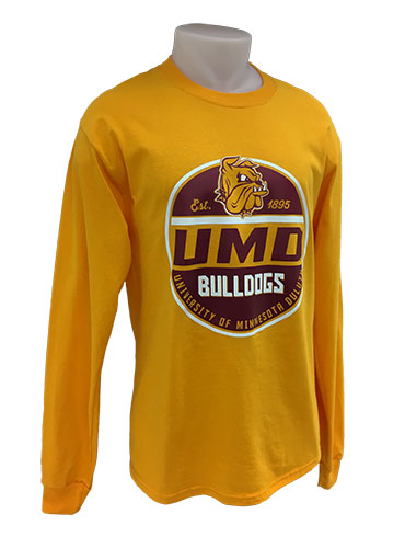 Image For UMD Bulldogs Long Sleeve Tee by Gear