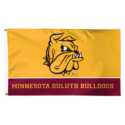 Image For Bulldog Deluxe Flag 3' x 5' by WinCraft
