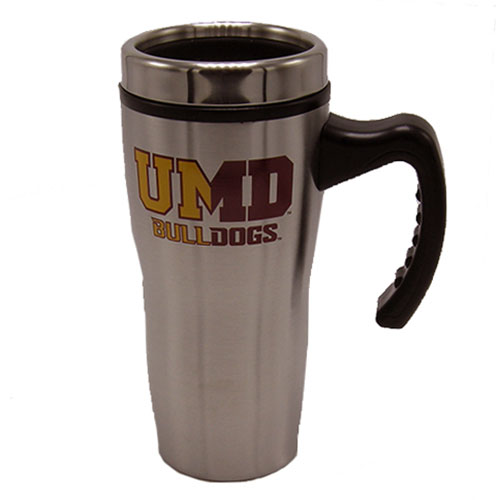 Image For UMD Bulldogs Travel Tumbler with Handle