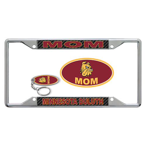 Image For Minnesota Duluth Mom License Plate Combo Kit