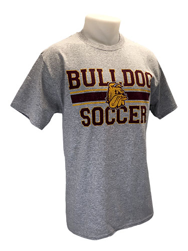 Cover Image For 2018 UMD Sports Tee: Bulldog Soccer by Gear