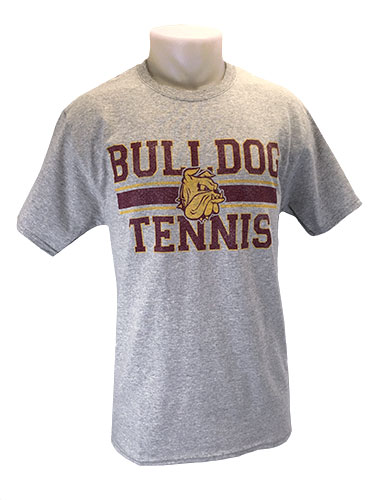 Cover Image For 2018 UMD Sports Tee: Bulldog Tennis by Gear