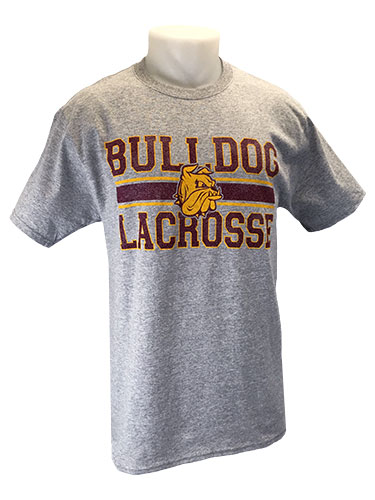 Cover Image For 2018 UMD Sports Tee: Bulldog Lacrosse by Gear
