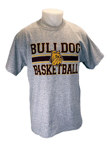 Cover Image For 2018 UMD Sports Tee: Bulldog Basketball by Gear