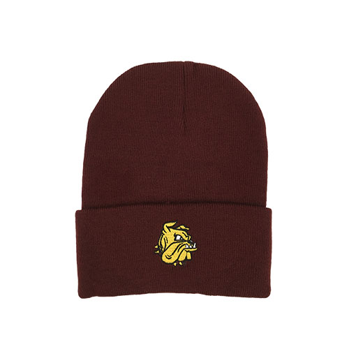 Image For Infant/Youth Bulldog Head Cuff Beanie by Logofit