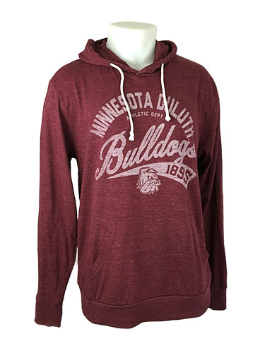 Image For Minnesota Duluth Bulldogs 1895 Hooded Tee by Blue 84