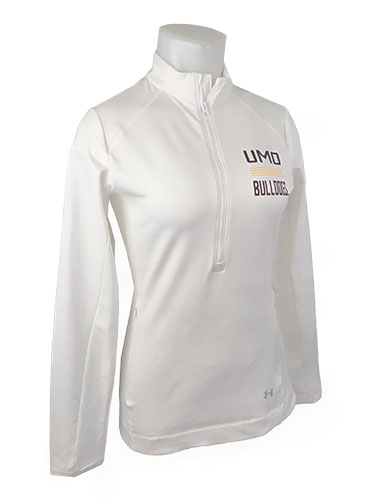 Image For Women's UMD Bulldogs 1/2 Zip Top by Under Armour