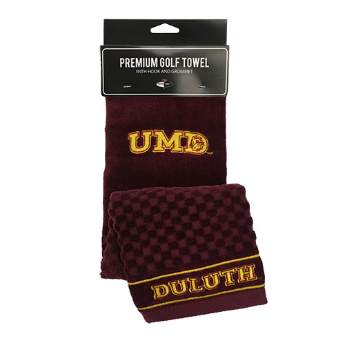 Image For UMD Duluth Golf Towel by Team Golf