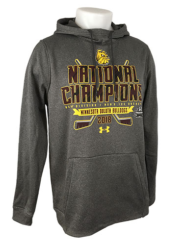 Image For NCAA 2018 Hockey National Champions Hood by Under Armour