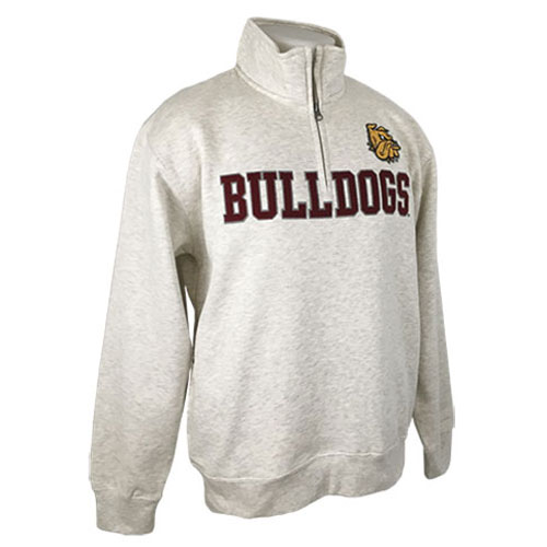 Image For Bulldogs 1/4 Zip Sweatshirt by Gear