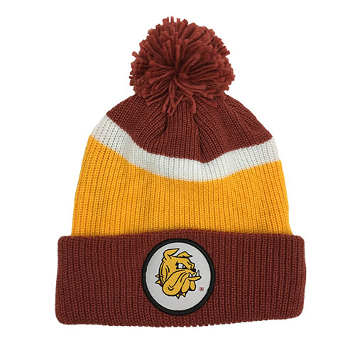 Image For Bulldog Head Pompom Hat by CCM