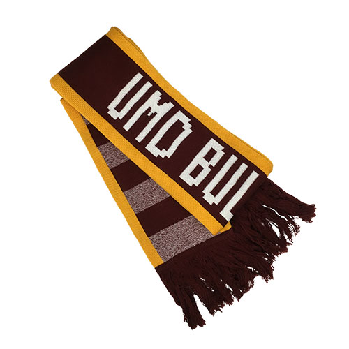 Image For UMD Bulldogs Scarf by Logofit