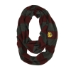 Cover Image for Bulldog Head Plaid Sherpa Cowl Scarf by Zoozatz