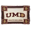 Cover Image for UMD Bulldogs Maroon Afghan 54x70