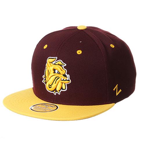 cheaper 33b03 a1314 Bulldog Head Bulldog Football Stretch Fit Cap by UA