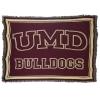 Image for UMD Bulldogs Maroon Afghan 54x70