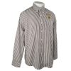 Image for Striped Long Sleeve Easy Care Button Up by Cutter and Buck