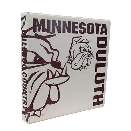 "Image For Minnesota Duluth Bulldog Country 1"" 3-Ring Binder by Samsil"