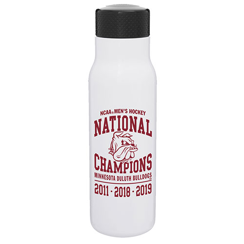 Image For 2019 NCAA Hockey National Champions Stainless Steel Bottle