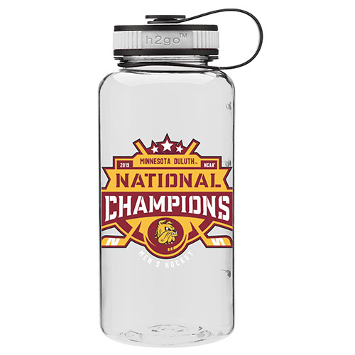 Image For 2019 NCAA Hockey National Champions Sport Water Bottle