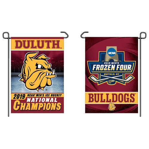 Image For 2019 NCAA Hockey National Champions Duluth Garden Flag